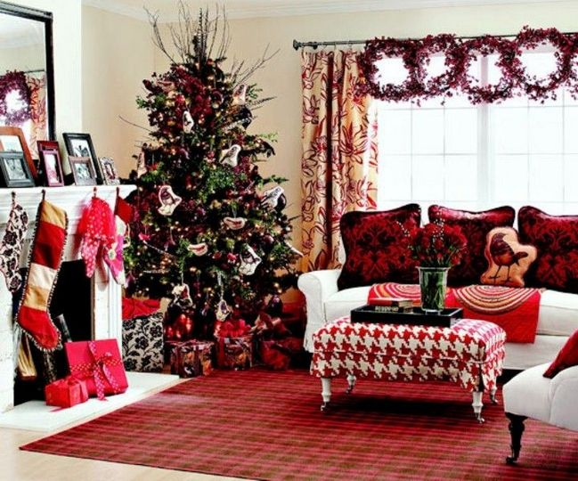 30+ Ideas christmas decorating ideas for the home living rooms