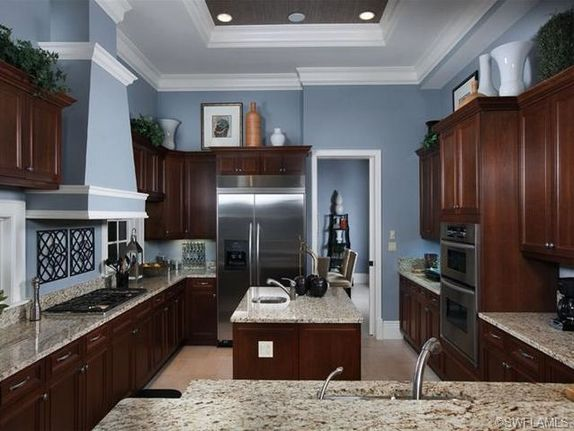 How to Choose Kitchen Ideas Dark Cabinets Backsplash Color Schemes