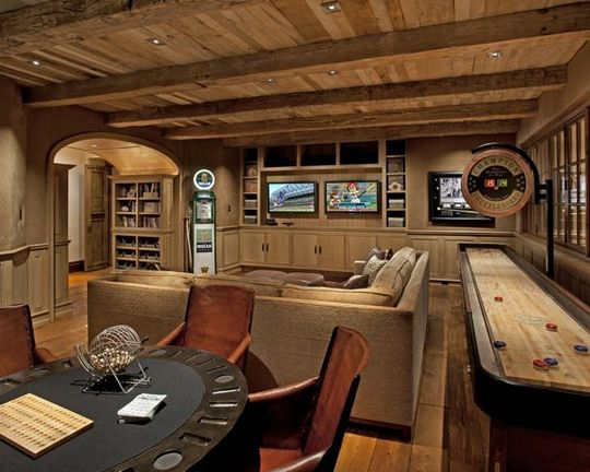 One Of The Most Disregarded Answers For Man Cave Basement Rustic Wall Ideas Decorinspira Com