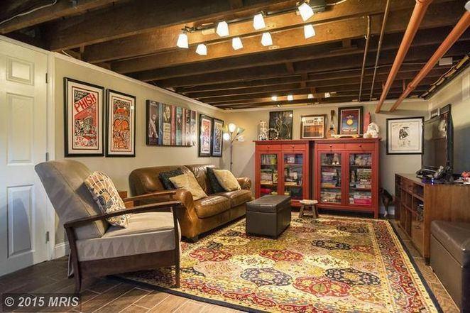 The War Against Unfinished Basement Ideas on a Budget Walls Exposed Ceilings