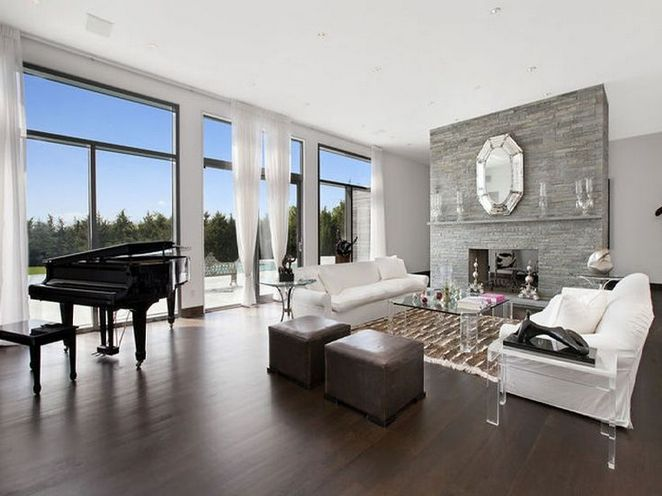 37 What Is So Fascinating About Dark Floors Grey Walls Living Room Decor