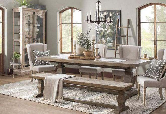 43 The Most Popular Farmhouse Table Centerpiece Dining Rooms Joanna Gaines Decorinspira Com
