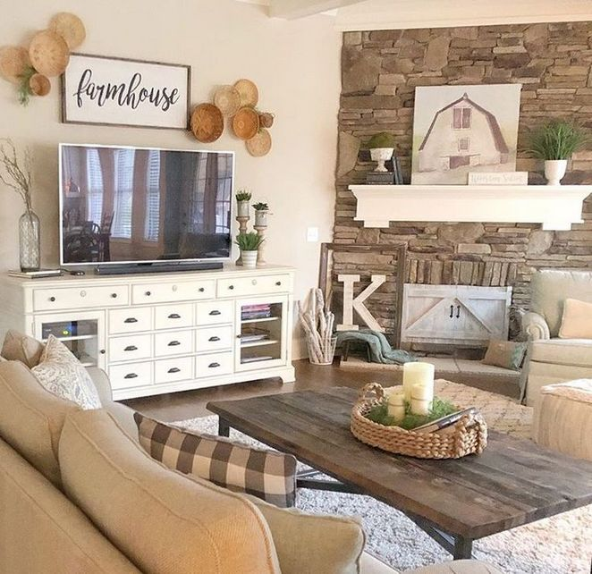 45+ The One Thing to Do for Farmhouse Living Room Colors Country Style
