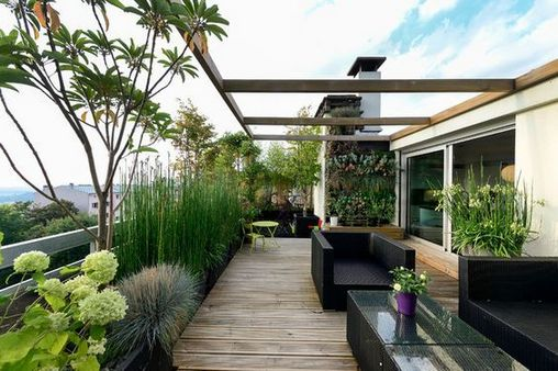 +40 Ideas, Formulas and Shortcuts for Rooftop Garden Landscape