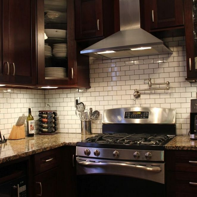 41 What Kitchen Backsplash Ideas With Dark Cabinets Subway Tiles Is And It Not 114 Decorinspira Com