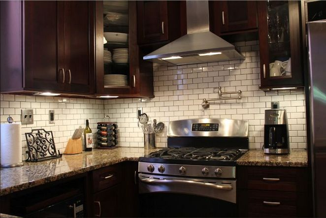 41 What Kitchen Backsplash Ideas With Dark Cabinets Subway Tiles Is And It Not 150 Decorinspira Com