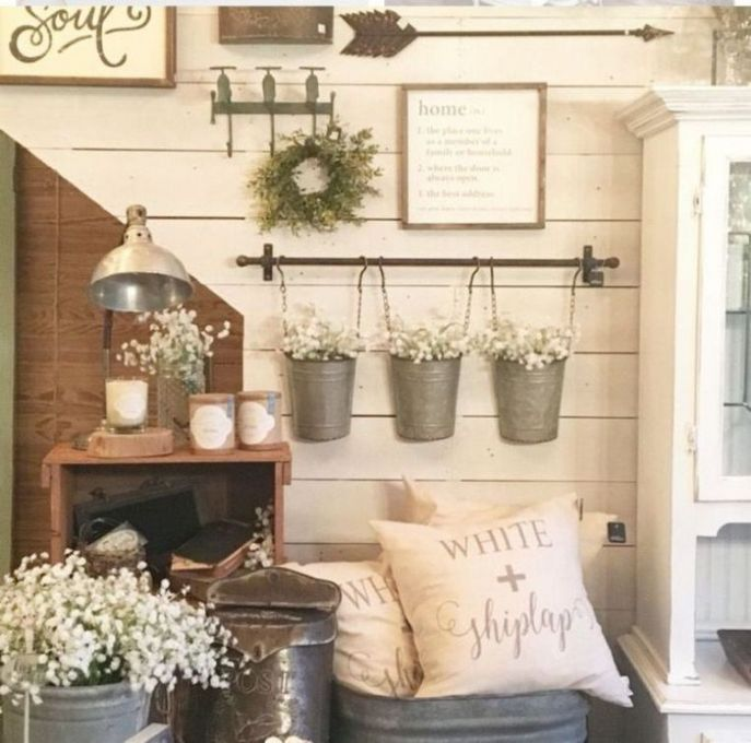46+ Spring Decorating Ideas Farmhouse Style Reviews & Guide
