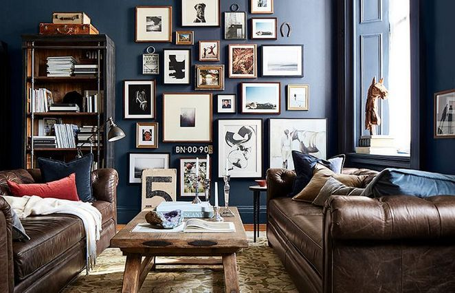 47+ The Meaning of Photo Gallery Wall Living Room Small Spaces