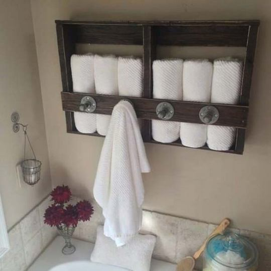 +43 To consider For bathroom shelves for towels diy projects