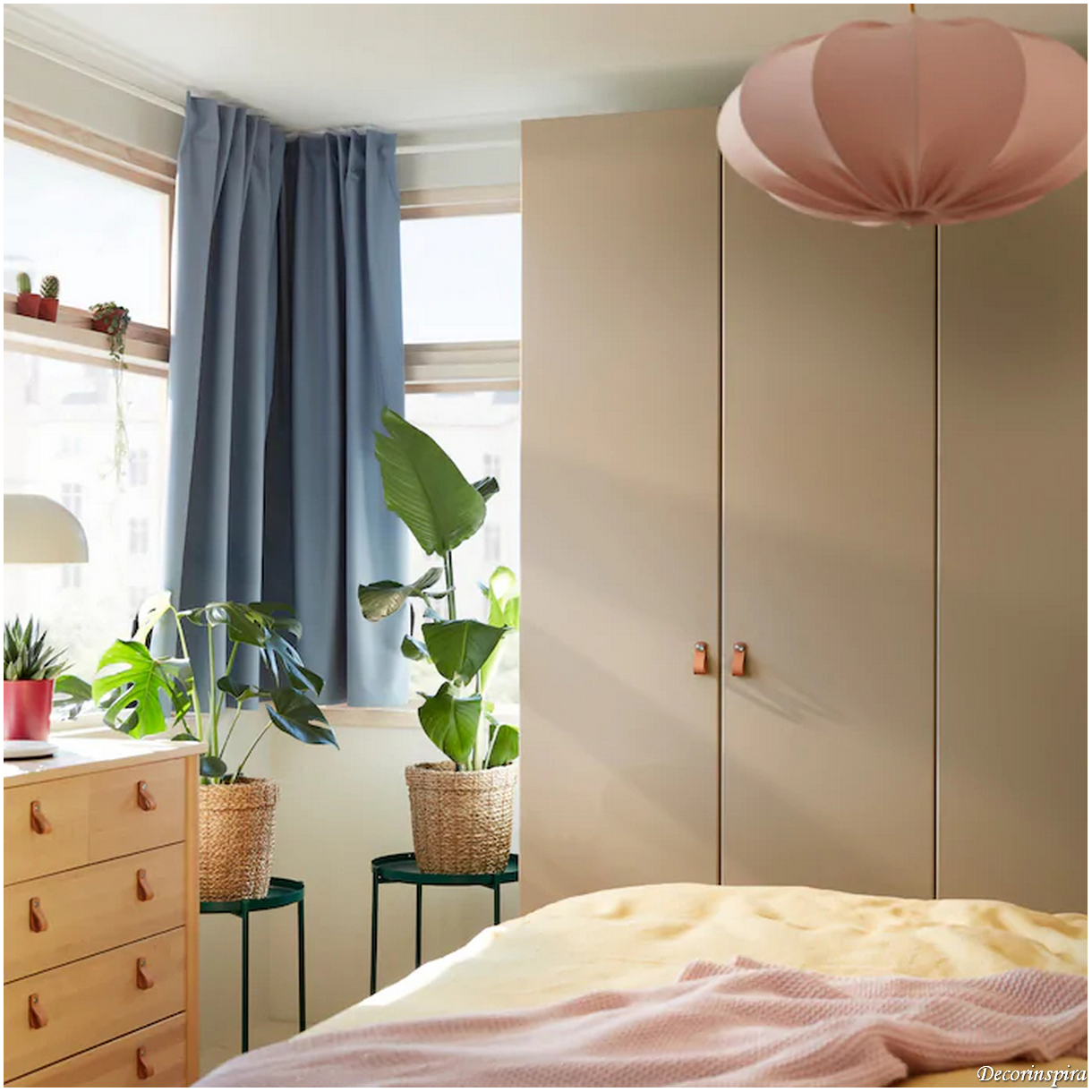 How A Spacious Bedroom With Wooden Furniture Creates An Eco-Friendly Bedroom